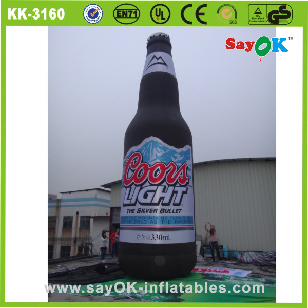 Advertising product inflatable beer can inflatable model advertising product