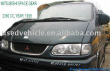 Mitsubishi Space Gear 4WD , used vehicle , used wagon , transpotation tool ( 2350CC , 1999 )