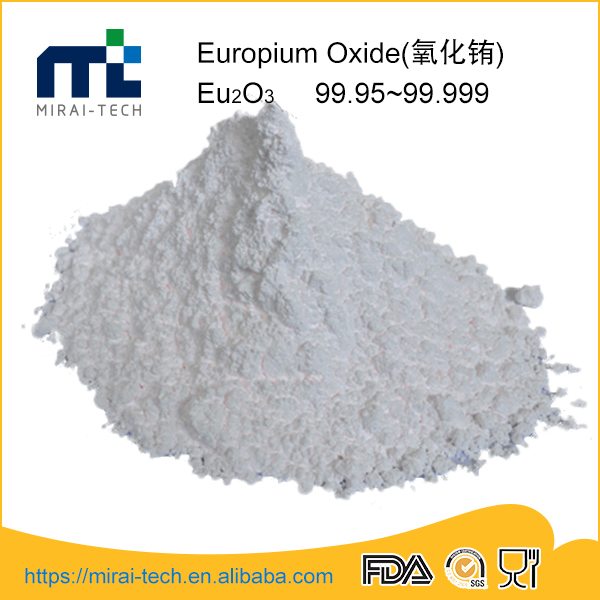 Buy high precision europium oxide fluorescent eu2o3 phosphor powder