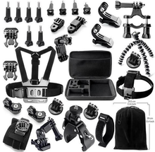 Accesories gopro accessories kit gopro case Chest Belt Head Mount Strap for Gopro Hero5/4/3+/3