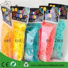 Factory fun silicone loom rubber band,rubber band loom designs