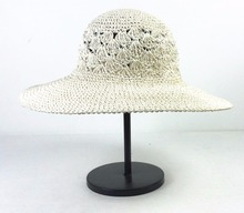 2017 Wholesale 100% Paper Straw Wholesale Cheap Fedora Ladies Straw Hats