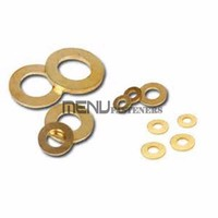 Brass washers for hardware