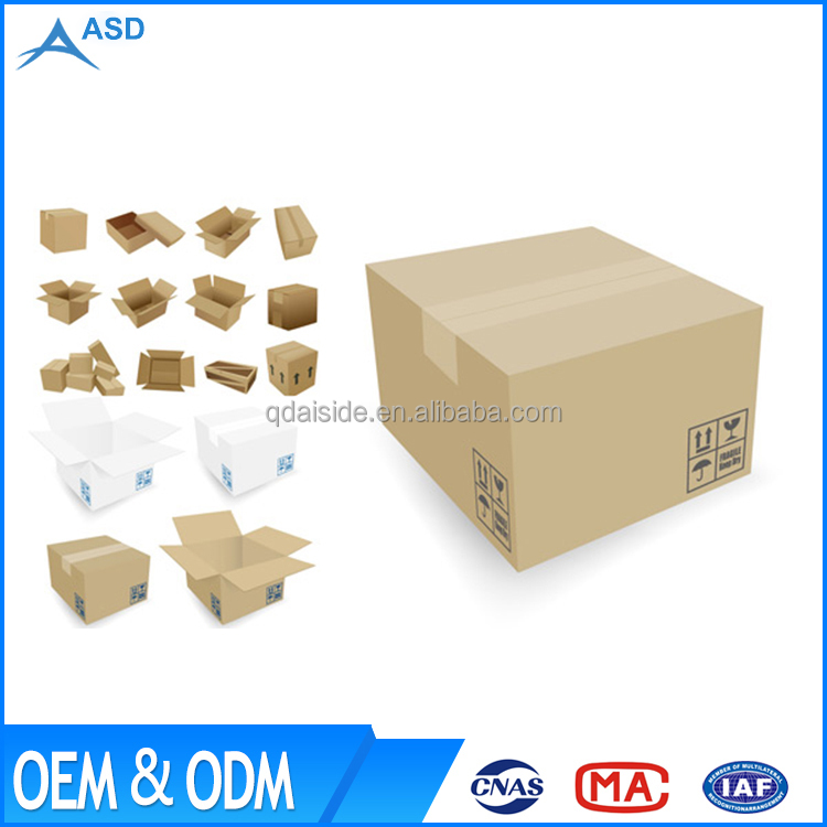 High quality printing mailing shipping delivering corrugated paper box
