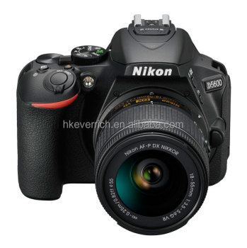 Nikon D5600 DSLR Camera Body with AF-P 18-55mm VR Lens Kit