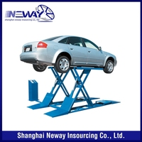 The Newest hot selling air jack scissor car lifting machine