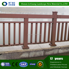 Hot sale WPC free standing temporary fencing