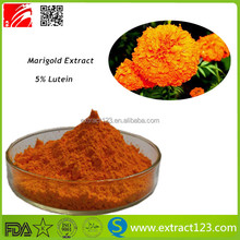 Factory supply best price marigold flower extract/5% lutein powder