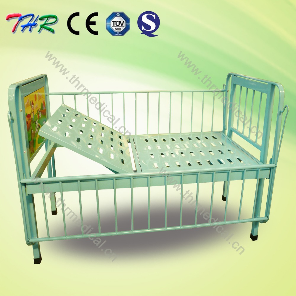 THR-CB003 Hospital cartoon bed for child with one crank