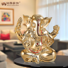 Decorations wedding favor feng shui small polyresin wedding gift ganesha statue