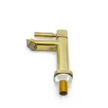 JOOKA old contemporary basin bathroom gold fancy taps faucet