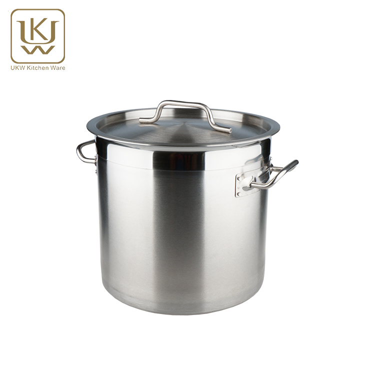 ukw kitchenwares large commercial stainless steel stock pot cooking pots buy large commercial hot potsstainless steel stock potcooking pots product on - Kitchen Wares
