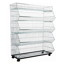 China direct wholesale supermarket retails food metal tier wire display <strong>shelf</strong>