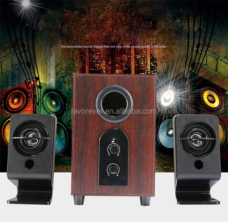 Best Quality 2.1 Speaker A8 Computer MultimediaSubwoofer Speaker Home Theatre Powerful Bass