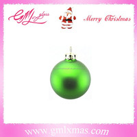 christmas tree decoration green glass ball,matt shiny glass christmas ball for tree hanging decoration