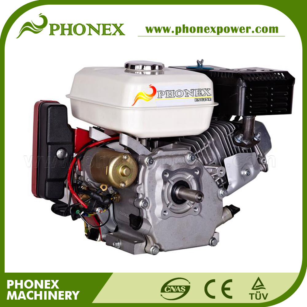 6.5 HP Petrol Engine GX200 OHV Electric Start Horizontal Keyway Shaft Gasoline Engine