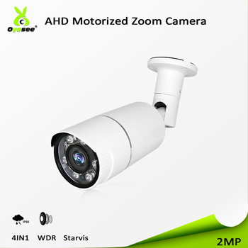 2018 High quality security monitoring hd cctv bullet camera 2Mp 1080p specification ir 40m motorized cctv lens ip66