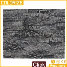 Professional Supplier High Quality Natural Black Stone For Exterior Wall House