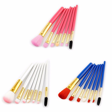 7Pcs Professional Makeup Brushes Set Powder Foundation Eye Shadow Beauty Face Blusher Cosmetic Brush Blending Tools