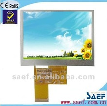 "4.3"" inch 480*(RGB)*272 dots TFT Horizontal mobile phone display"