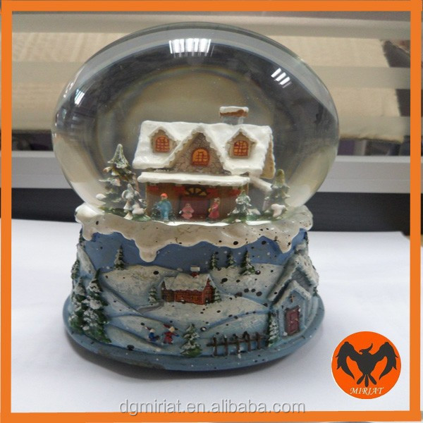 New Style Crystal Snow Globe water ball