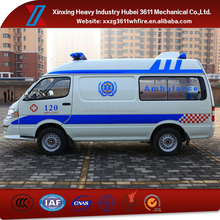 High Quality Factory Price New Manual Emergency Rescue Transport Type Ambulance Van