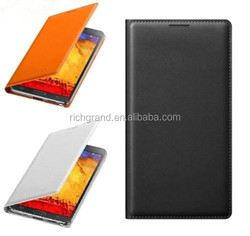 Genuine premium leather flip case cover for Samsung galaxy note3 N9005