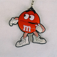3D custom rubber soft pvc keychain for promotion rubber key chains