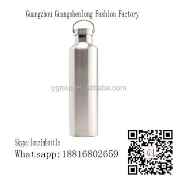 double wall 18/8 stainless steel vacuum insulated water bottle,SGS 25OZ stainless steel tumbler for outdoor sport