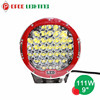 "Car led spot light 12v for atv suv 4x4 9"" 111w led driving light"