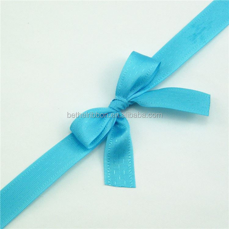 Professional Manufacture recycled Ribbon bow for packaging walmart wedding flowers