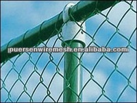 PVC Coated Chain Link panel /z00 security fence