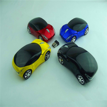 Unique Car Shaped 2.4G Wireless Computer Notebook/Desktop mini car Optical Mouse