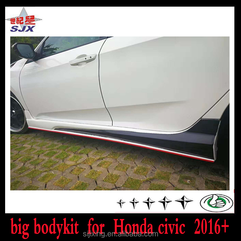 HONDACIVIC 4DR COUPE BODYKIT HFP STYLE BODY KIT POLY URETHANE BODYKITS