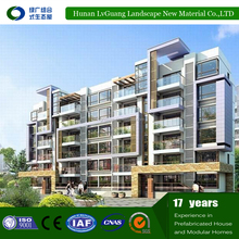 2017 fantastic and fast construction comfortable beautiful prefab modular apartments/houses made in China