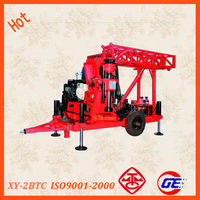 The wholesale price chinese top head full hydraulic core tractor drilling hole tempered glass with BQ NQ HQ