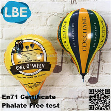 2015 advertising custom hot air foil balloons for sale