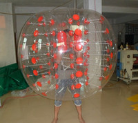 2016 hot PVC inflatable bubble ball,inflatable bubble ball suit