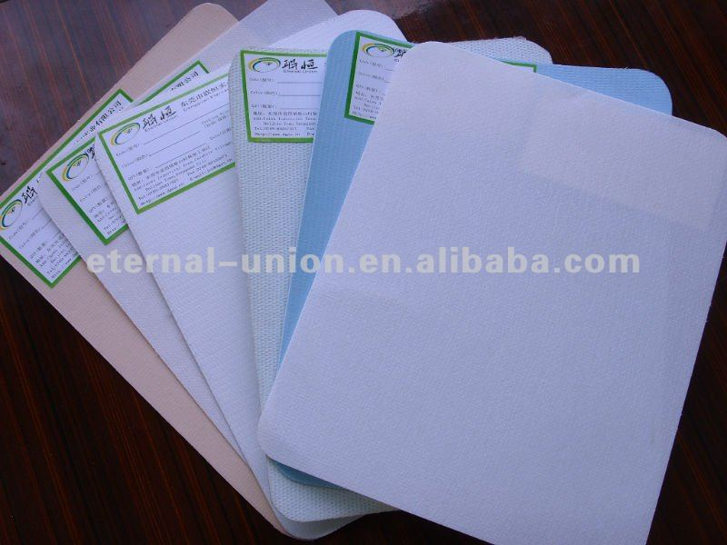 Various colors and eco-friendly thermal glue sheets for shoe making