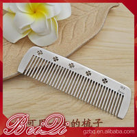 Wholesale Hair Salon Tools Stainless Steel Hair Comb, Easy Clean Hair highlight Comb for 304 Stainless steel