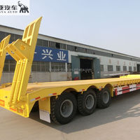 Direct Supplier Low Bed Semi Trailer
