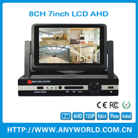 7inch moniter 8ch AHD DVR KIT