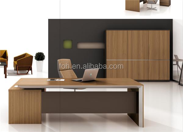 standard office desk dimensions modern executive desk(foh-kna241