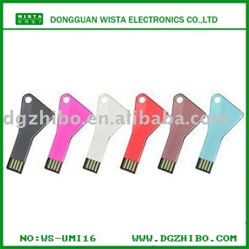 simple usb flash memory KEY USB STORAGE DEVICE/u disk