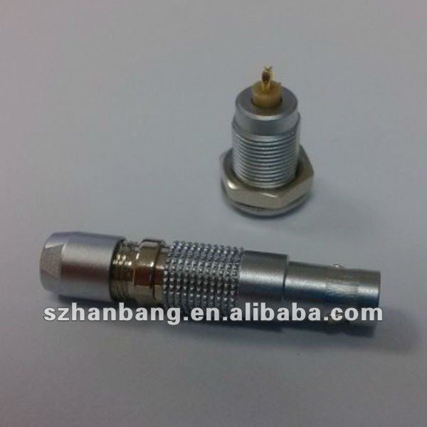 D27: 2.3 - 2.7 mm LEMO compatible 00B 3 pin connector