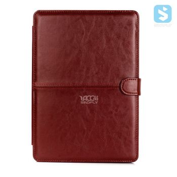 PU Leather Case Sleeve Cover for New Macbook Pro 15
