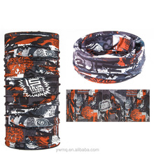 Multi-purpose tubular polyester face shield custom bandana multi-purpose tubular polyester headband face shield custom