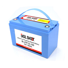 Lithium ion battery lifepo4 12v 100ah deep cycle battery
