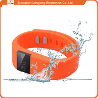For keep health custom slap smart bracelet bluetooth 4.0, mobiles accessories bracelet