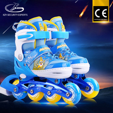 China Wholesale Price Roller Skate Shoes With Flash Wheel Kids Inline Skates